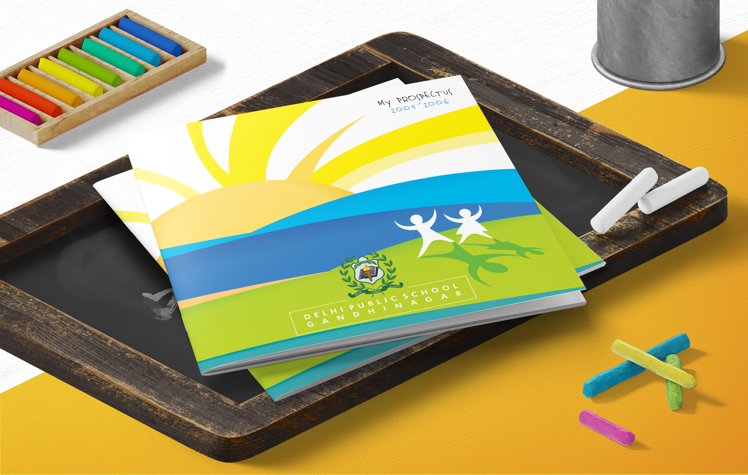 Illustration & Brochure Design